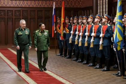 Nhà lãnh đạo chính quyền quân sự Myanmar: 'Nga là người bạn trung thành của chúng tôi'