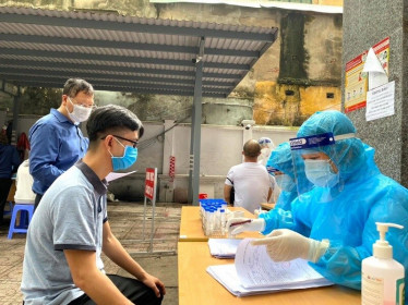 Sáng 16/7, Hà Nội thêm 4 trường hợp dương tính với SARS-CoV-2