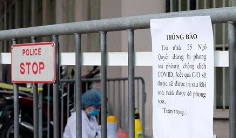 Toàn bộ người liên quan đến ca mắc Covid-19 tại tòa nhà Bộ Công thương có kết quả xét nghiệm âm tính