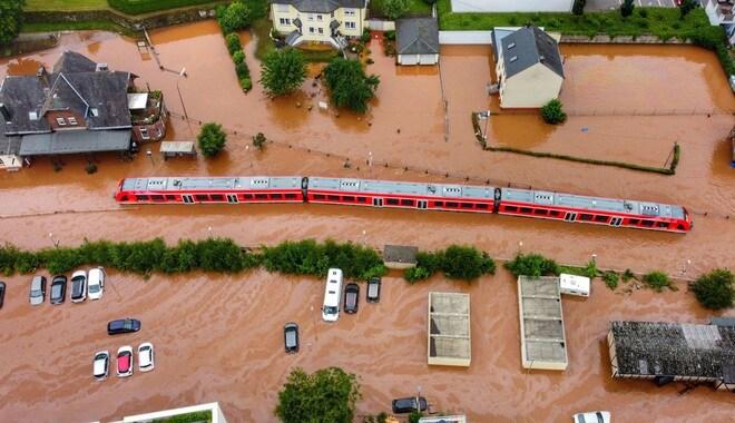 168 người chết trong thảm kịch mưa lũ kinh hoàng tại châu Âu