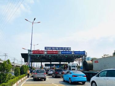 Khẩn: TP.HCM tạm dừng các trạm BOT trong thời gian giãn cách