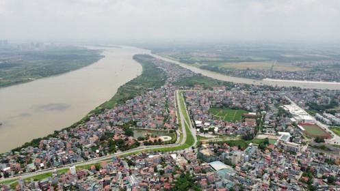 Quy hoạch phân khu đô thị sông Hồng: Bộ NN&PTNT đề nghị Hà Nội kiểm soát chặt đất ngoài bãi sông