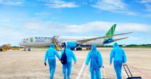 Bamboo Airways phối hợp tổ chức các chuyến bay đặc biệt đưa người Gia Lai về từ TP.HCM và Bình Dương