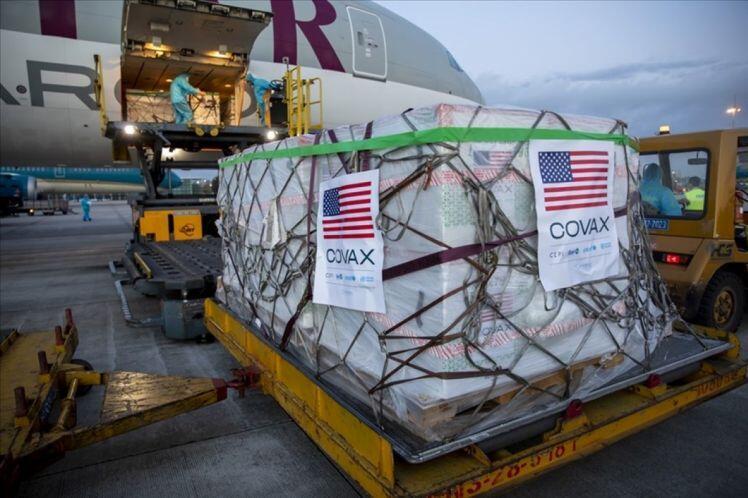 3 triệu liều vaccine Mỹ cung cấp qua cơ chế COVAX sẽ về Việt Nam vào ngày 25/7