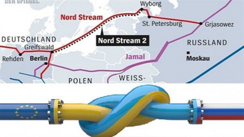 """Thỏa thuận Mỹ-Đức về Dòng chảy phương Bắc 2: Ukraine, Ba Lan không thể ngồi yên, ra tuyên bố nói lời """"tâm can"""""""
