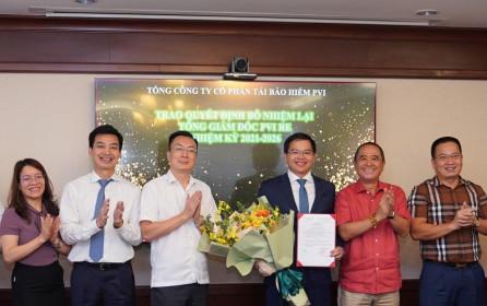 PVI Re (PRE) bổ nhiệm Tổng giám đốc nhiệm kỳ 2021-2026