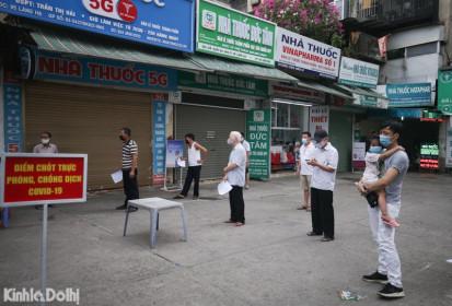 Trưa 23/7, Hà Nội tiếp tục thêm 17 ca dương tính với SARS-CoV-2