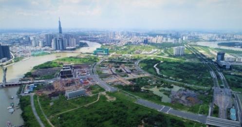 '5 khu phố thuộc 3 phường nằm trong ranh quy hoạch Khu đô thị mới Thủ Thiêm'