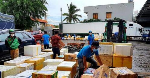 Doanh nghiệp muốn tận dụng chiều 'rỗng' container chở nông sản về TP.HCM