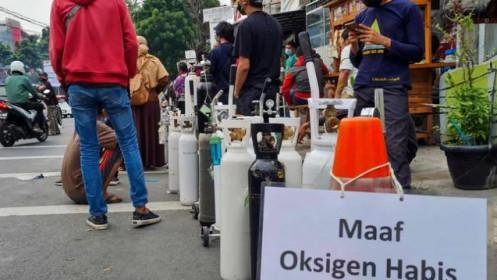 Dịch Covid-19: Số ca nhiễm mới cao kỷ lục ở Malaysia, khủng hoảng ôxy ở Indonesia