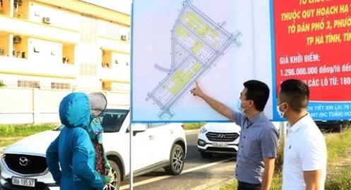 'Sửng sốt' với giá đất quy hoạch tại TP. Hà Tĩnh
