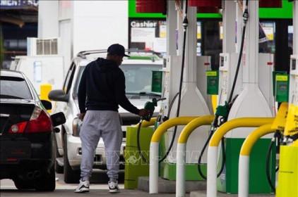 Giá xăng ở Mỹ tăng nhẹ