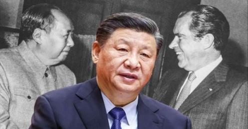 """Nửa thế kỷ sau """"cú sốc Nixon"""", quan hệ Mỹ-Trung đứng giữa ranh giới đỏ"""
