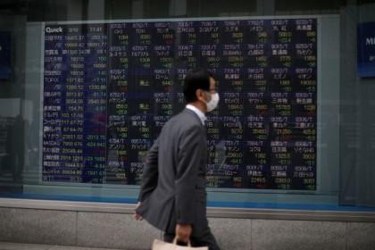 Chứng khoán châu Á hầu hết giảm, thị trường Hong Kong phục hồi sau chuỗi giảm sâu
