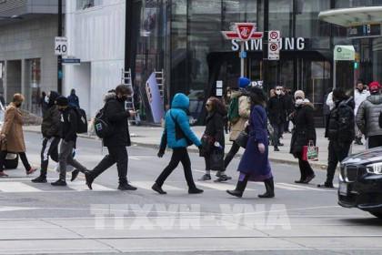 Doanh số bán lẻ của Canada giảm tháng thứ hai liên tiếp