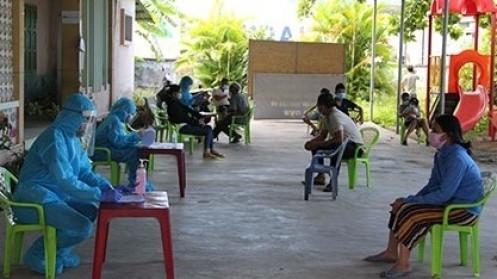 Xuất hiện ca mắc Covid-19 cộng đồng, TP Nha Trang phong tỏa xã Vĩnh Lương