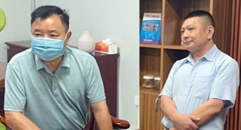 Bắt 2 chuyên gia Trung Quốc về hành vi buôn lậu