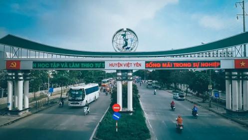 Bắc Giang sẽ có thêm hai khu đô thị hơn 150ha tại Việt Yên