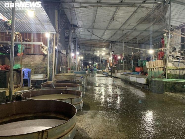 Chợ cá lớn nhất Hà Nội hoang vắng, tiểu thương nghỉ quá nửa vì Covid-19
