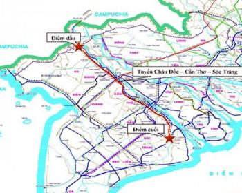 Làm cao tốc nối An Giang – Sóc Trăng hơn 47.400 tỷ đồng