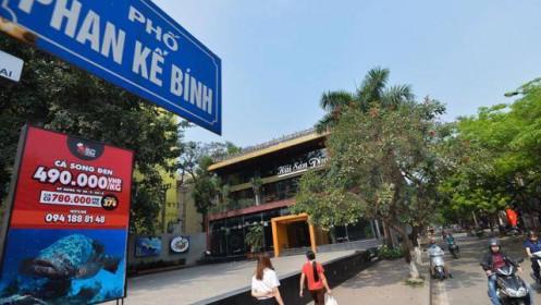 Giá đất bồi thường tại đường Phan Kế Bính khoảng 98 triệu đồng/m2