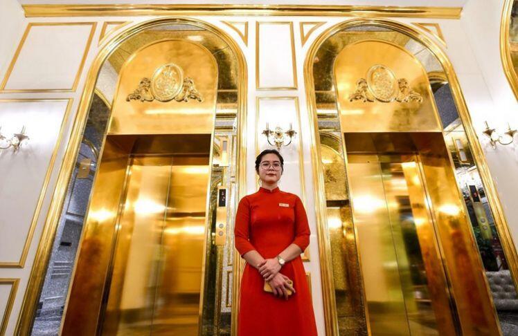 Khách sạn dát vàng hơn 100 triệu USD của Việt Nam lên báo Trung Quốc