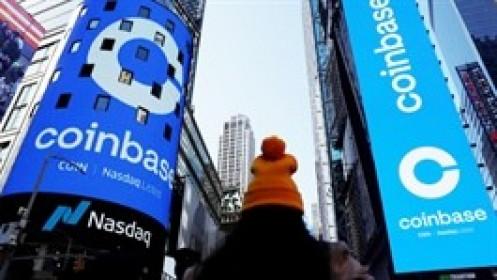 Sàn giao dịch tiền ảo Coinbase báo lãi ròng 1.6 tỷ USD, tăng 4,900%