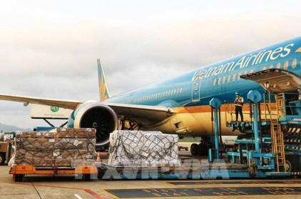 Thụy Sĩ gửi lô hàng 13 tấn viện trợ y tế cho Việt Nam