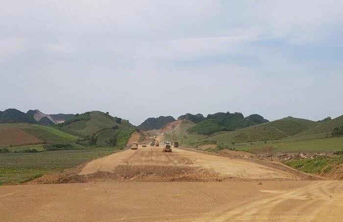 Cao tốc Mai Sơn - QL 45: Sản lượng thi công đạt 1.100 tỷ đồng, đạt 15% tiến độ