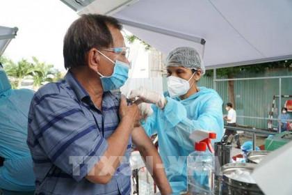 Gần 3,4 triệu người ở Tp Hồ Chí Minh được tiêm vaccine COVID-19 an toàn