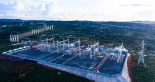 Trungnam Group đóng điện đường dây 500kV cho dự án điện gió lớn nhất Việt Nam