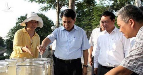 Tổng Giám đốc Cty thoát nước mang tiền nhà tạm ứng cho Cty gia đình ông Nguyễn Đức Chung