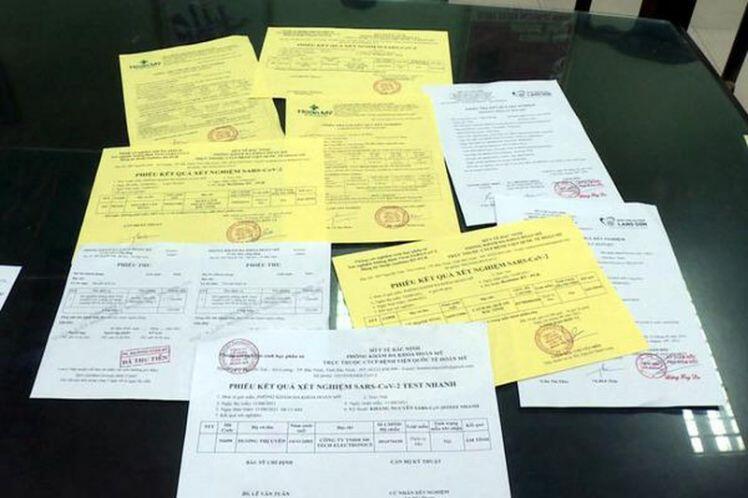 Cần nghiêm trị hành vi làm giả giấy xét nghiệm COVID-19