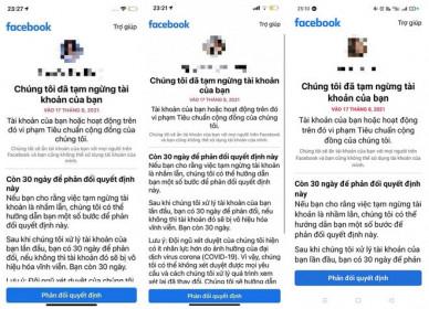 Nhiều tài khoản Facebook Việt có thể bị khoá tài khoản vì xem clip nhạy cảm