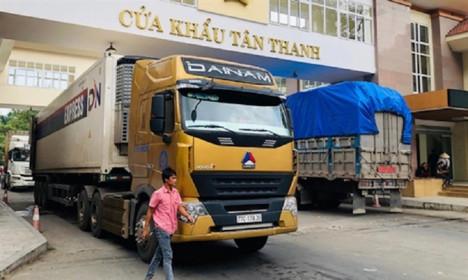 Cửa khẩu Tân Thanh, Lạng Sơn thông quan hàng hóa trở lại từ hôm nay