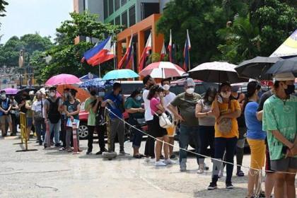 Philippines ghi nhận ngày có số ca nhiễm mới COVID-19 cao thứ hai kể từ đầu dịch