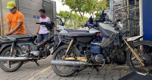 Không dễ thu, đổi xe máy cũ nát