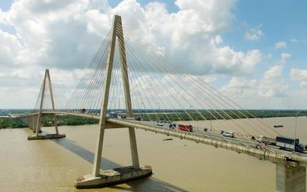 Phê duyệt khung bồi thường, tái định cư dự án cầu gần 5.200 tỉ đồng nối Tiền Giang với Bến Tre