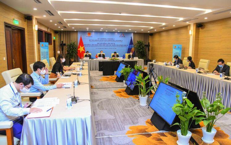 AIPA 42: Thúc đẩy hợp tác Nghị viện khu vực trong sản xuất vaccine phòng, chống dịch bệnh