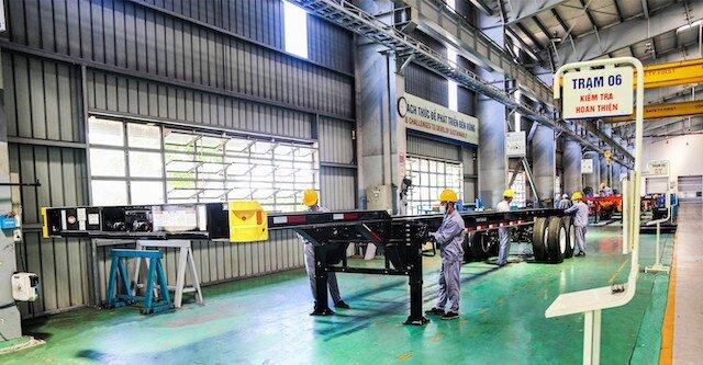 THACO ký hợp đồng xuất khẩu 6.050 somi rơ moóc sang Mỹ