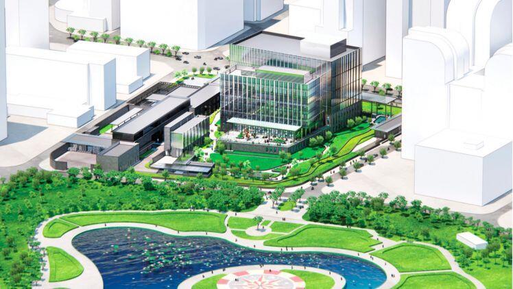 Cận cảnh thiết kế đại sứ quán tỉ USD của Mỹ tại Việt Nam