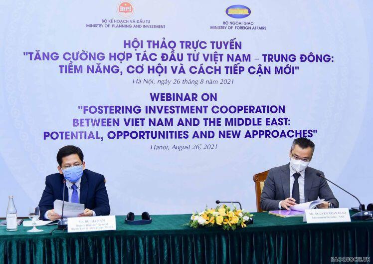 Việt Nam sẵn sàng chào đón các nhà đầu tư Trung Đông